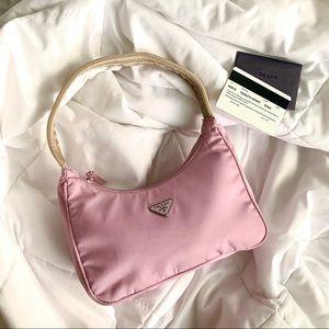 SOLD Prada Pink Nylon Mini Bag
